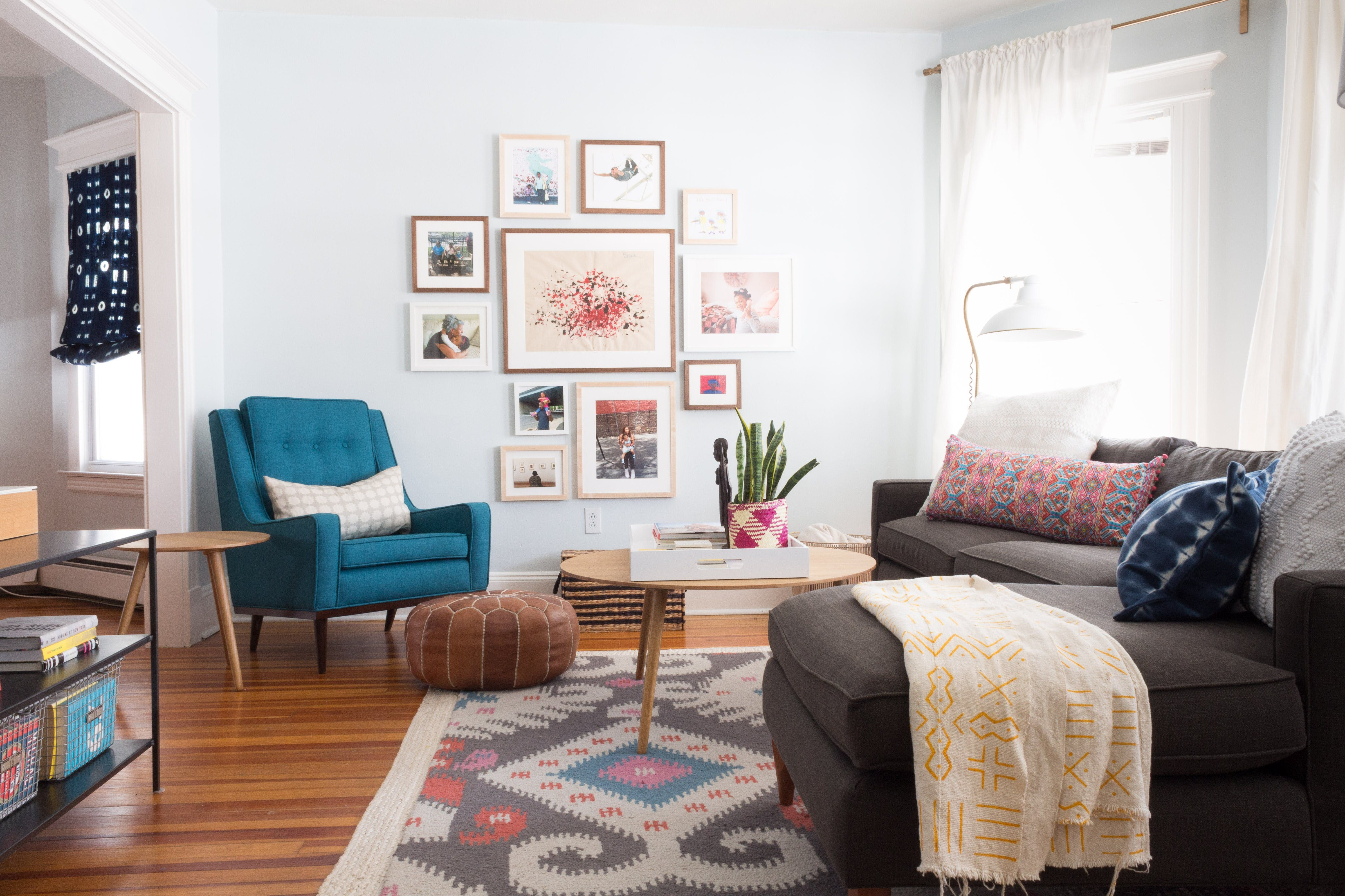 Tour a Designer\'s Creative & Colorful Connecticut Home | Room rugs ...