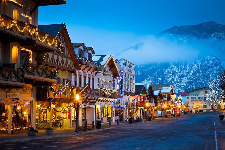 Leavenworth, Washington - such a beautiful little Bavarian village