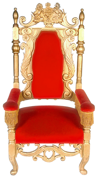 Transparent Red Throne Png Clipart Wooden Chair Rocking Chair Makeover Chair