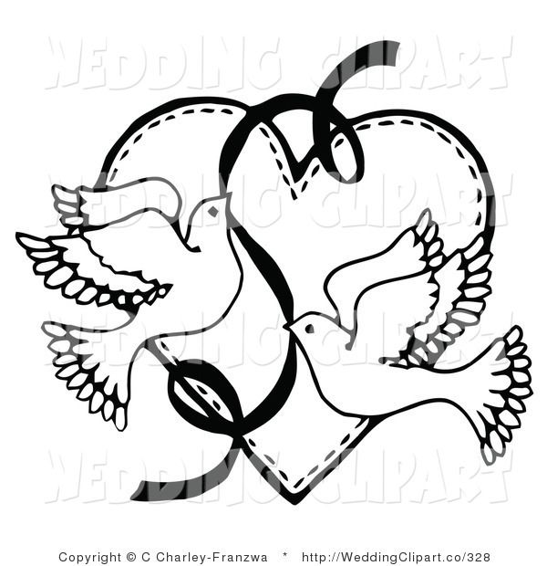free downloadable wedding clipart wedding clip art c charley rh pinterest com wedding cliparts free wedding clipart black and white
