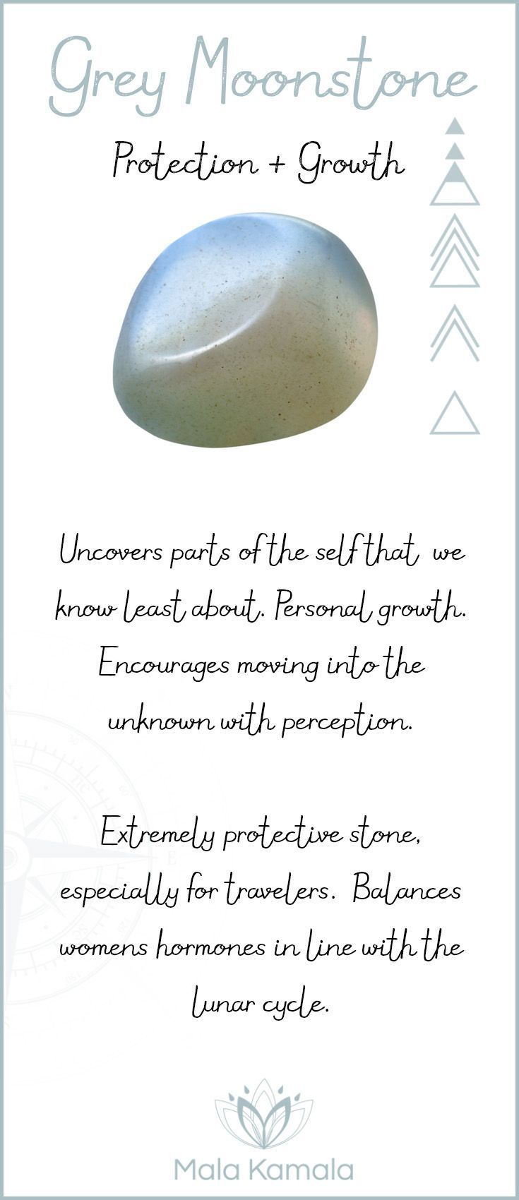 Pin To Save Tap To Shop The Gem What Is The Meaning And Crystal And Chakra Healing Properties Of Grey Moonston Edelstenen Kristallen Mineralen Helende Stenen