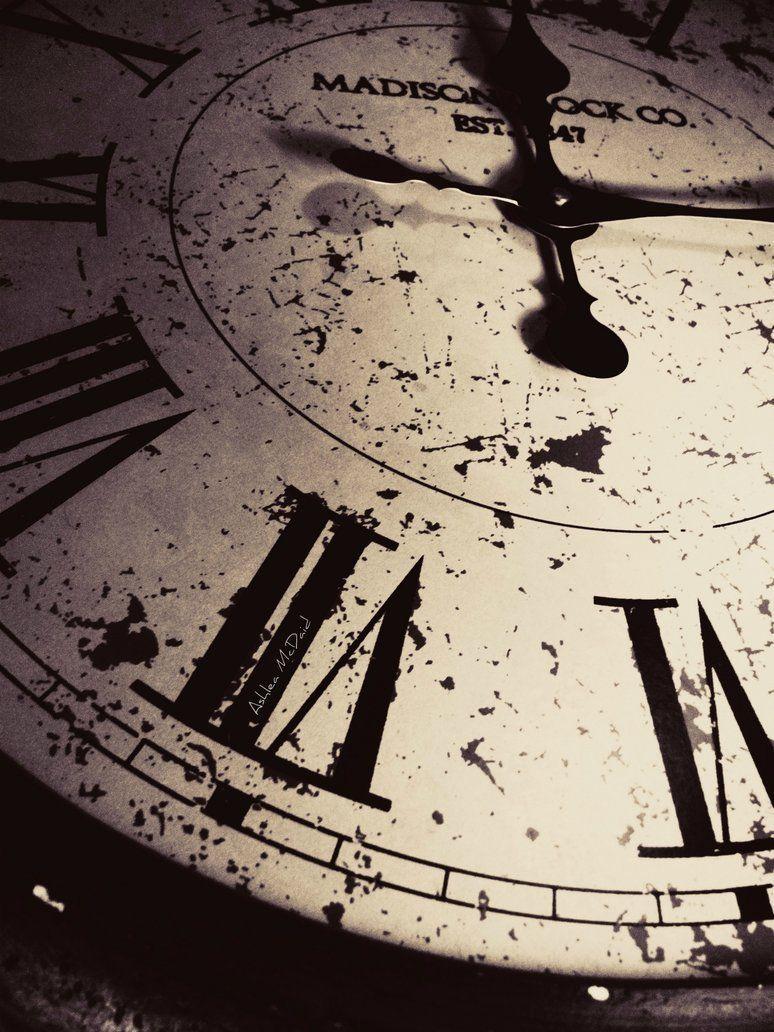 Clock Old Time Trick Vintage Hands Of Time Clock