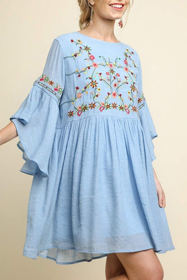 594020c4113 Umgee USA Floral Embroidered in 2019