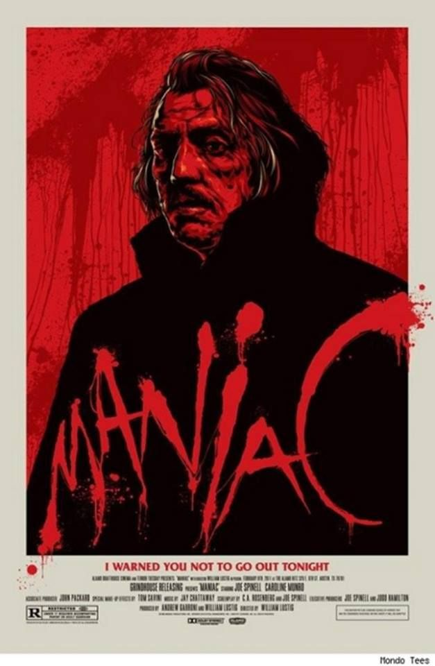 Maniac 1980 Film Poster T-Shirt