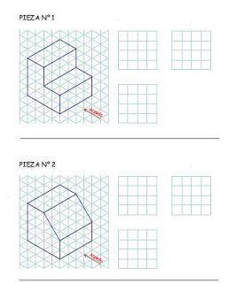 Vistas De Un Objeto Concepto De Vista Una De Las Formas En Que Podemos Representar Los Objetos En Tecnicas De Dibujo Dibujos De Geometria Ejercicios De Dibujo