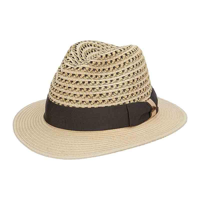 23cfd6fcd9958 Tommy Bahama Vented Crown Fedora with TB Marlin Pin in 2019 ...