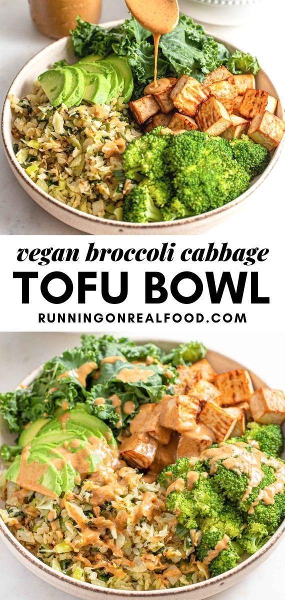 LowCarb Vegan Bowl Recipe in 2020 Vegan bowl recipes