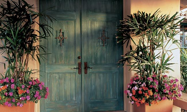 Photo Gallery Southwestern Style | Architectural Traditions | Crafted Doors Windows and Hardware & Photo Gallery: Southwestern Style | Architectural Traditions ...