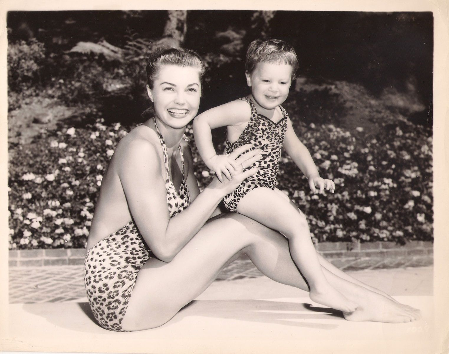 Esther Williams and daughter Susan