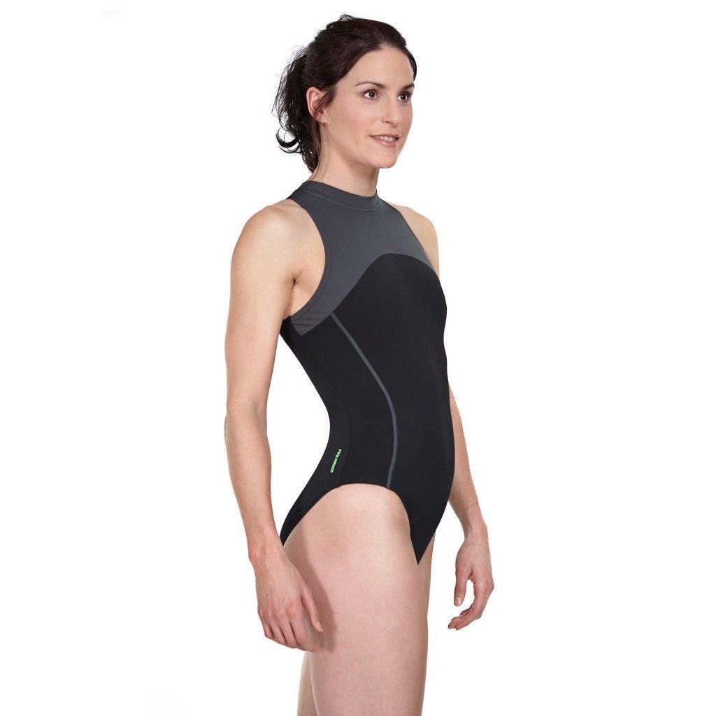 fcb37020252 NEW Zoggs Predator Splice Hydrasuit Swimsuit UK/US 42