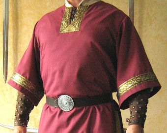Medieval Celtic Viking Norman Shirt by MorganasCollection on Etsy