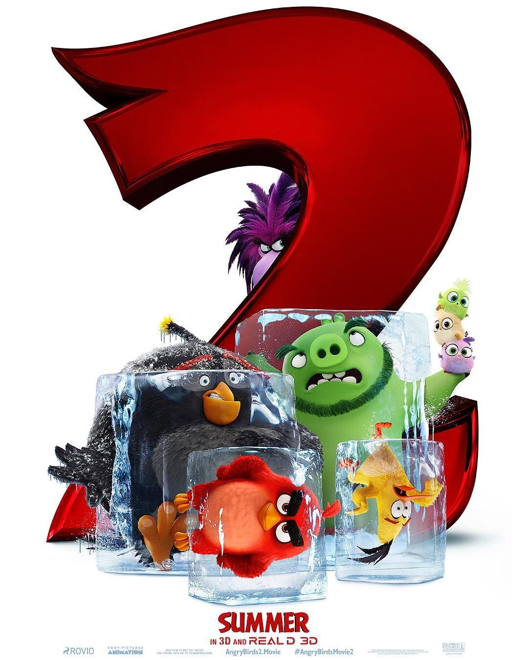 Birds Of A Feather Chill Together The Angrybirdsmovie2