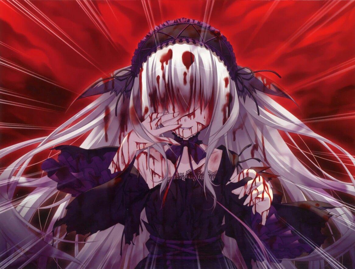 Кровь-с аниме картинки