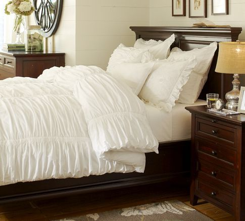 Gorgeous Bedding Ruffle Duvet Cover Home Decor Bed Frame And Headboard