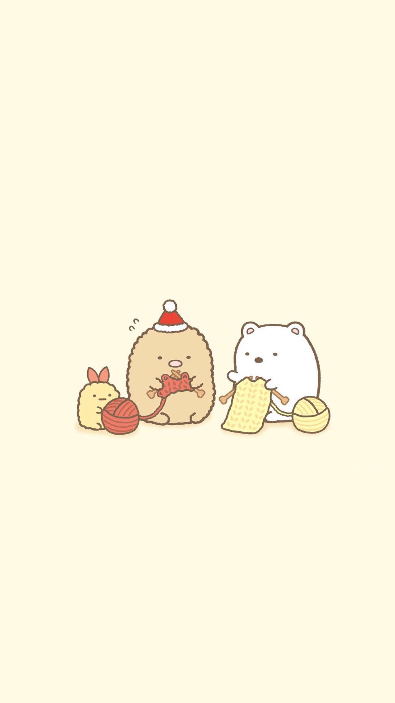 Pin By Hana Jraa On Cute Small Things Cute Cartoon Wallpapers Cute Christmas Wallpaper Cartoon Wallpaper