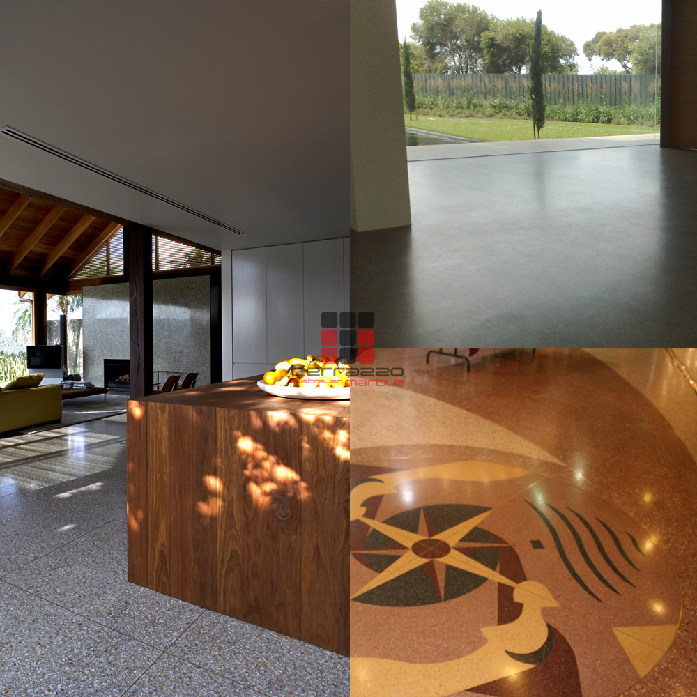Terrazzo Is Not Just For Indoor Flooring Because It Is Durable And - How to maintain terrazzo floors