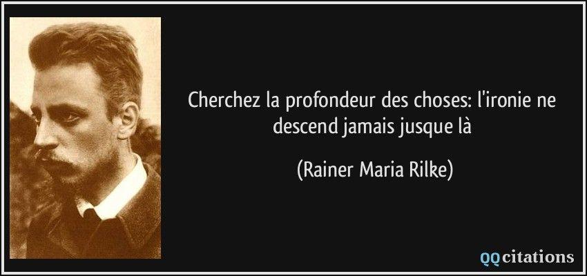 Rainer Maria Rilke In The Mood For Litterature Citation