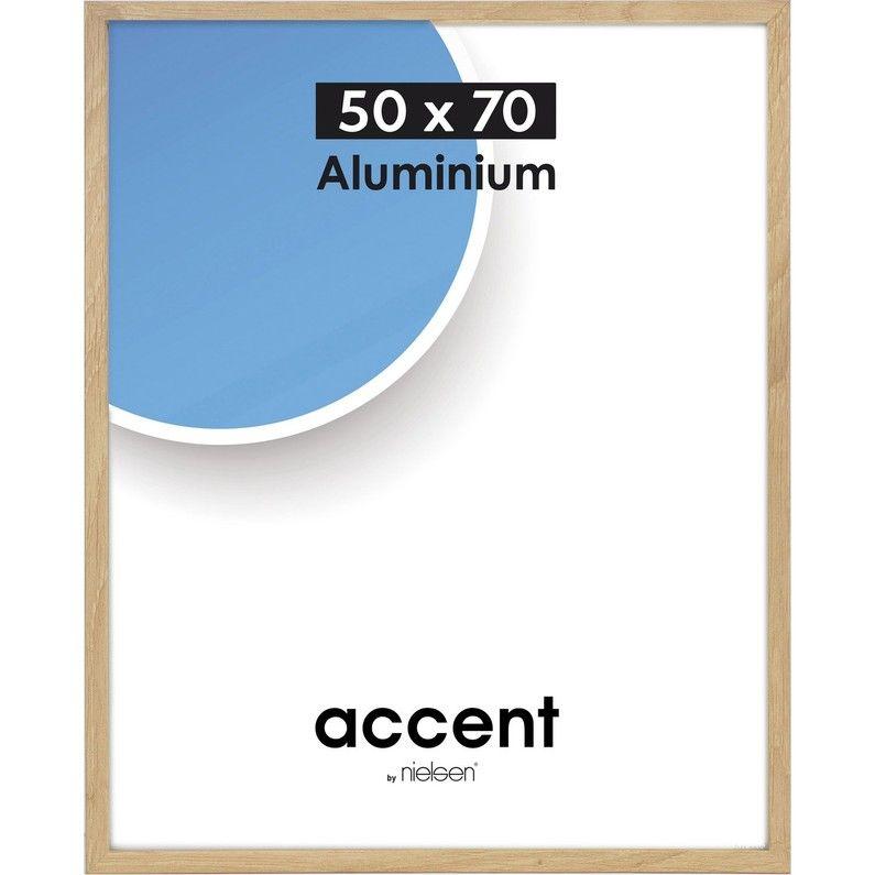 Cadre Accent, 50 x 70 cm, chêne clair NIELSEN Chene