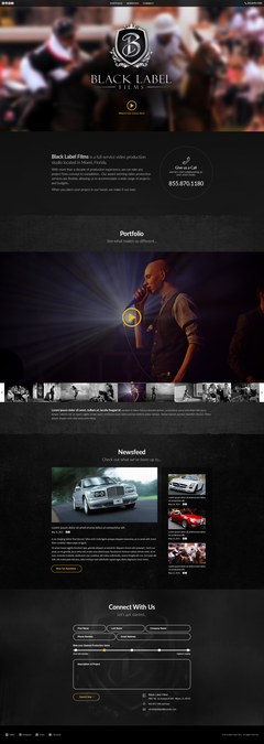 Design a Website for a Commercial Video Production Company by WebBox