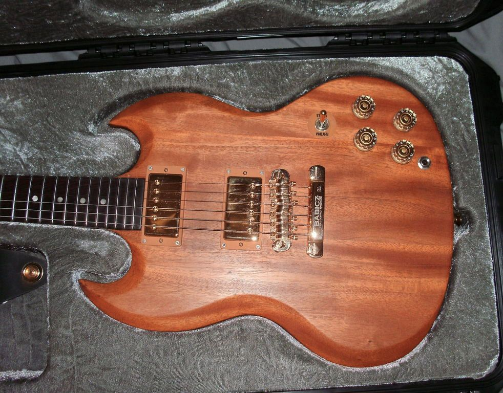 Reader Guitar Of The Month Stripped Sg Special Guitar