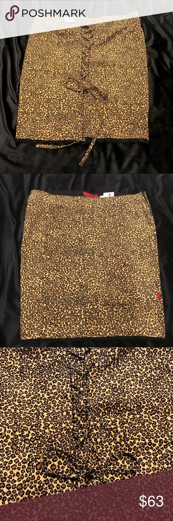 74d1df0e9bf NWT Torrid Pin Up Girl Leopard Corset Back Skirt. CorsetPencil  SkirtsTorridNycBlack LacesLeopardsSexyTagsBustiers