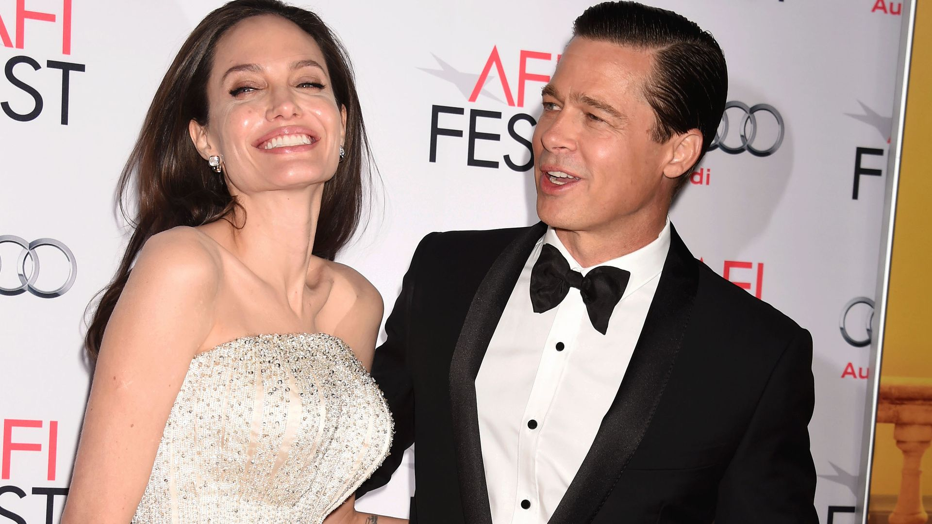 Angelina Jolie and Brad Pitt's Sweetest Moments: With news ...