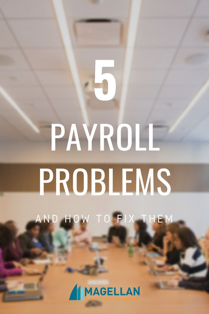 Payroll headaches are an epidemic in offices even if you