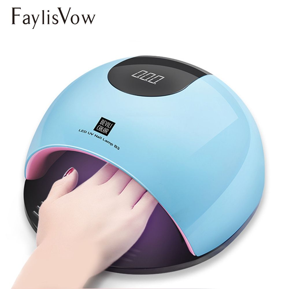 80w Uv Led Lamp Nail Dryer For Manicure Sun Light Lamp For Nails Curing All Gel Polish Sensor Machine Nail Art Led Dryer Tools Nail Dryer Uv Led Led Nail Lamp