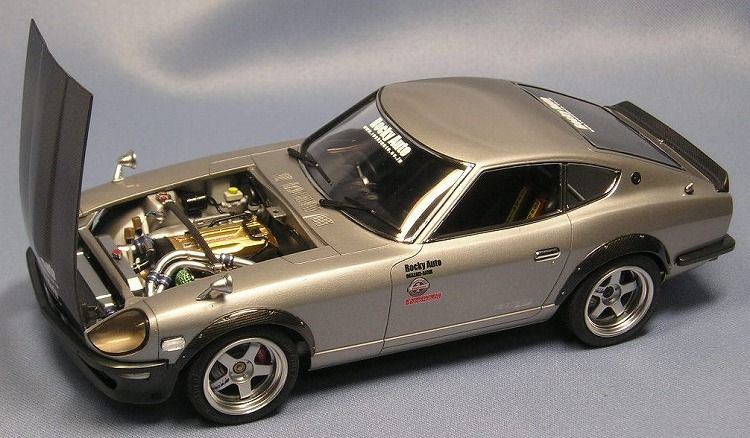 Datsun 240 Z 1 24 Plastic Fanatic Pinterest Model Car Scale