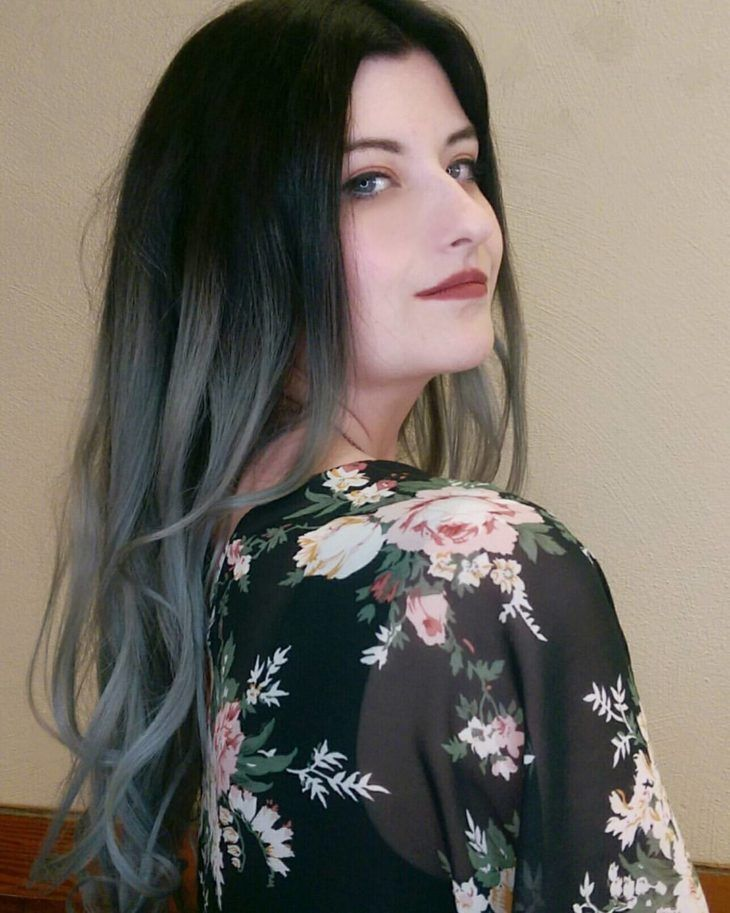Charcoal hair 30 razões para você amar esta tendência