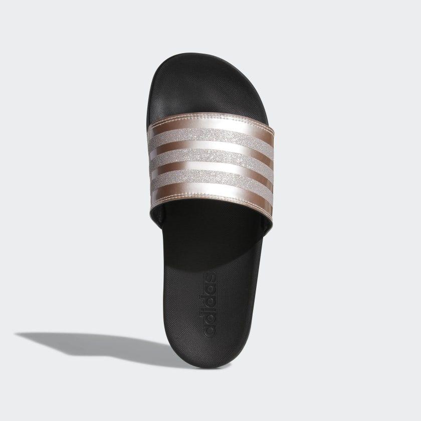 adidas Adilette Comfort Slides - Pink | adidas US | Pink ...