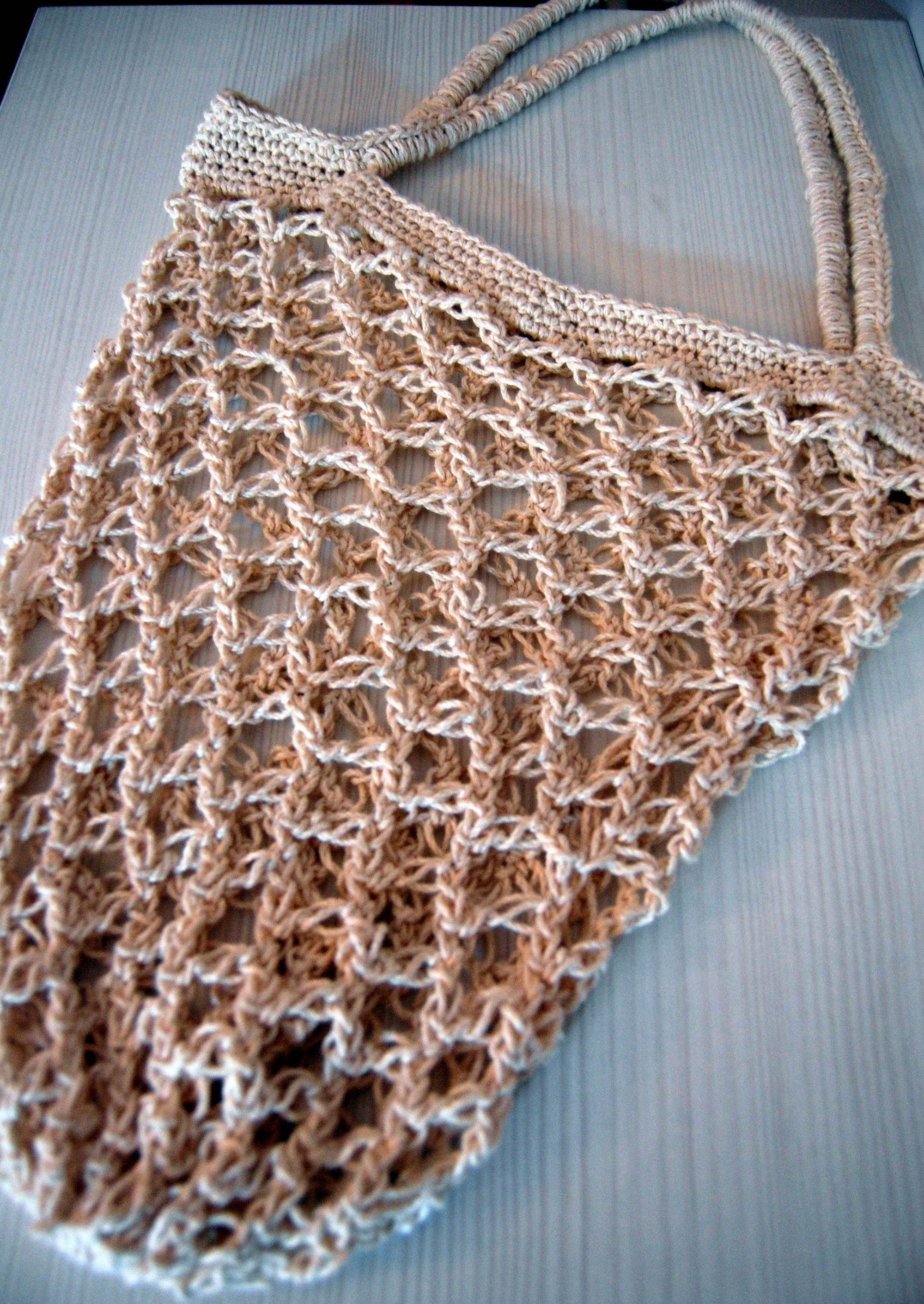 Crochet shopping bag Sewing Crafts Pinterest
