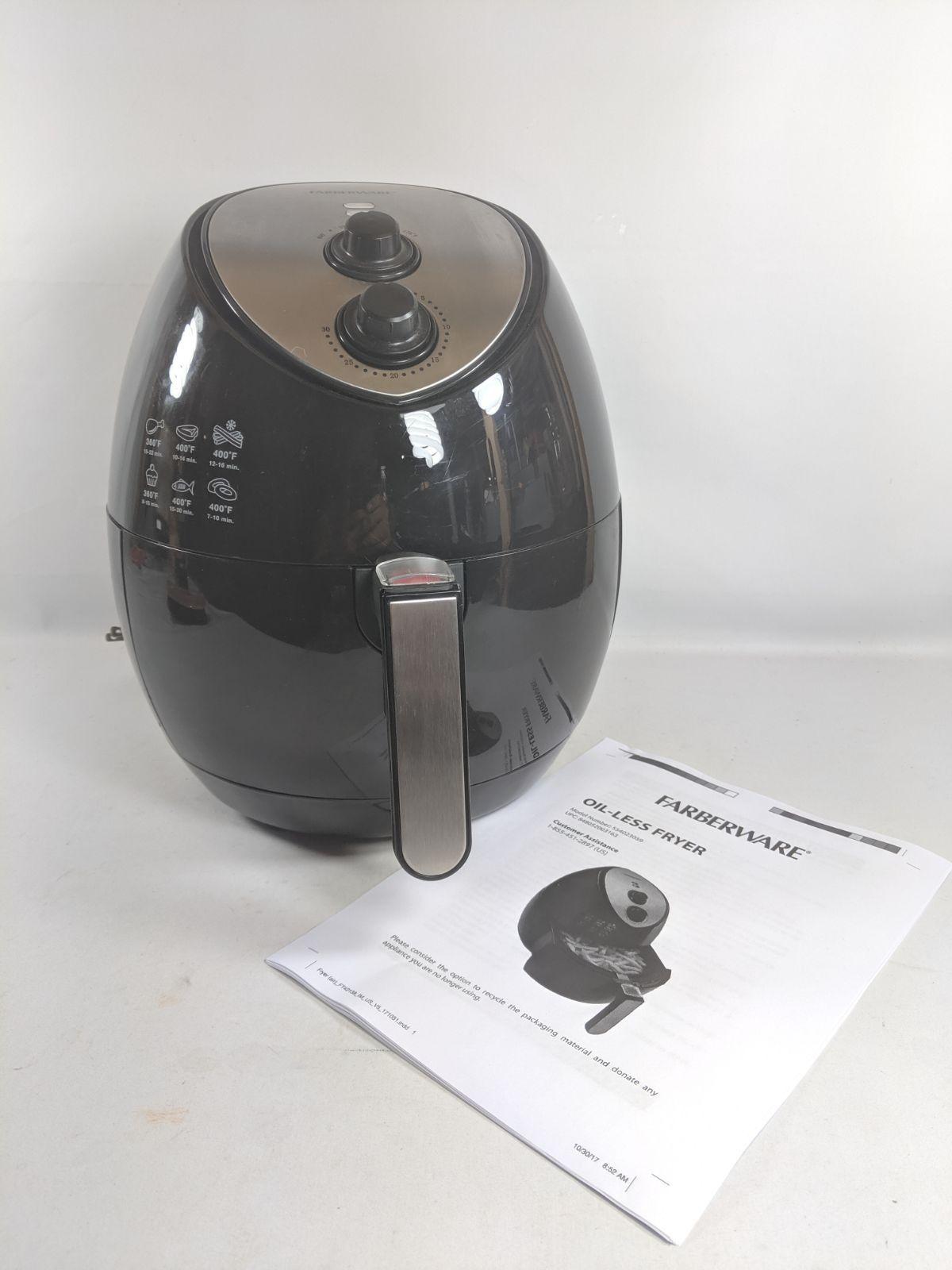 Farberware Air Fryer 3.2 qt. OilLess Mercari airfryer