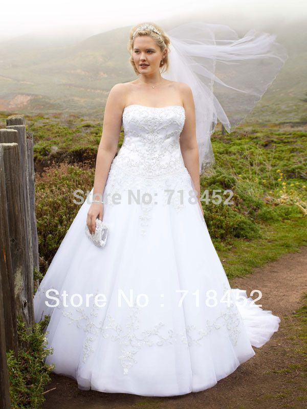 Free Shipping Best 2017 New Size 28 Wedding Dresses Liques