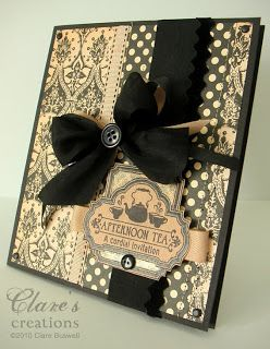 black & beige | Clare's creations
