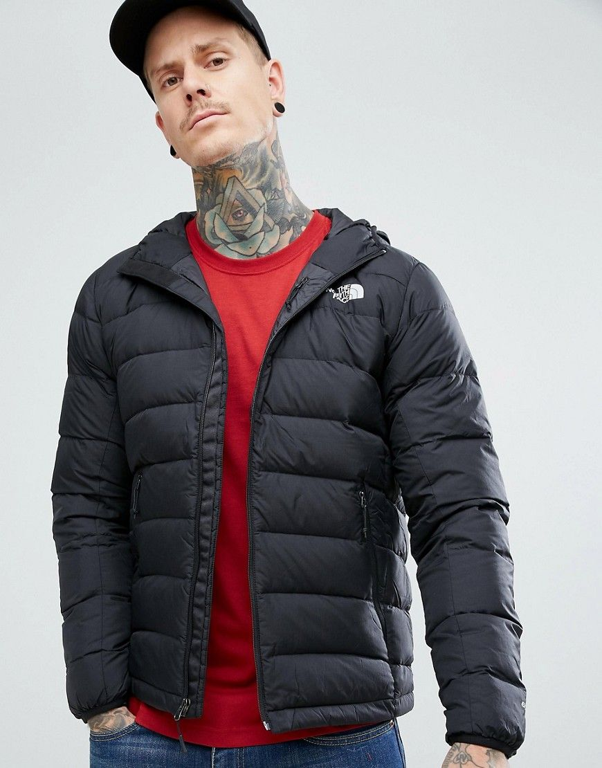 The North Face La Paz Down Hooded Jacket in Black - Black 952e125ff