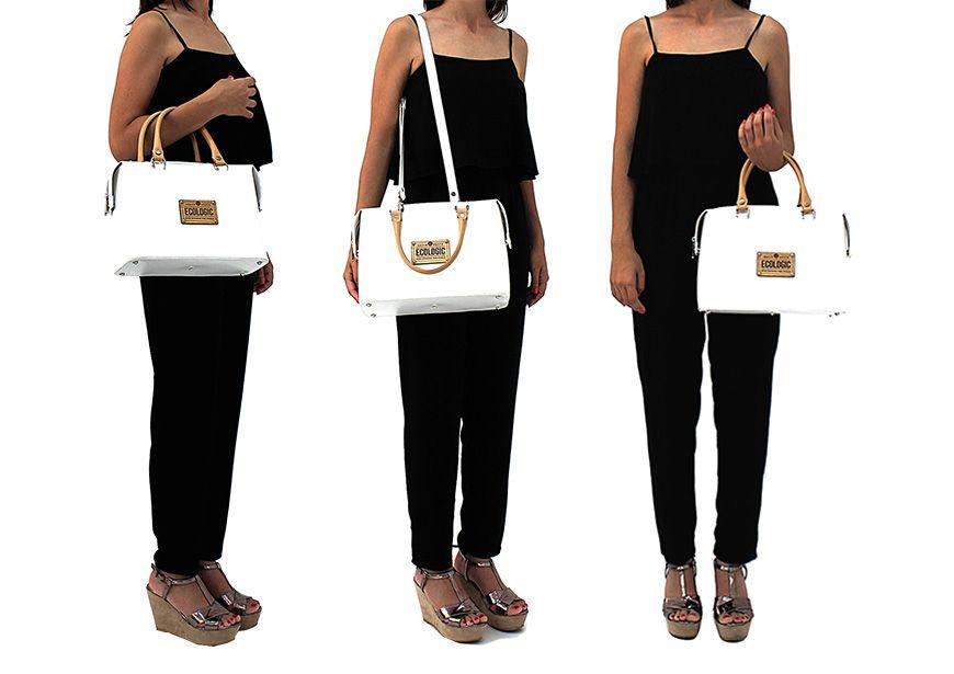 Bolso maletín Madeira con diferentes opciones de llevar