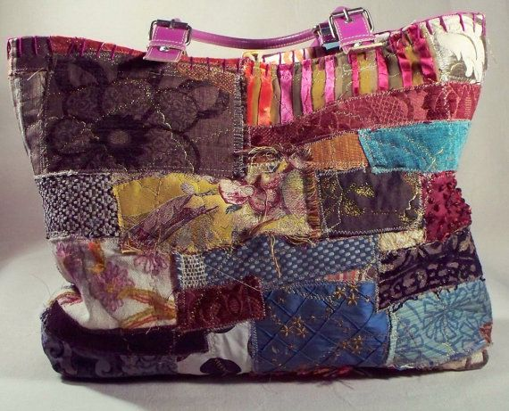 Boho Chic One of a kind Handmade Fiona Collage by ilovetwilla