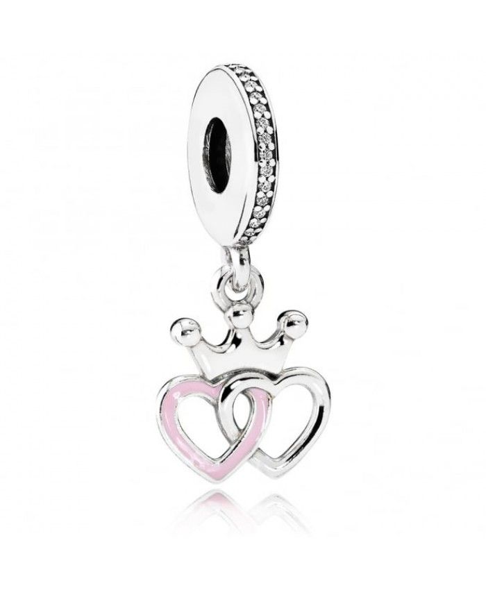 b4108065f PANDORA Crowned Hearts Pendant Charm 791963cz Outlet Sale | love ...