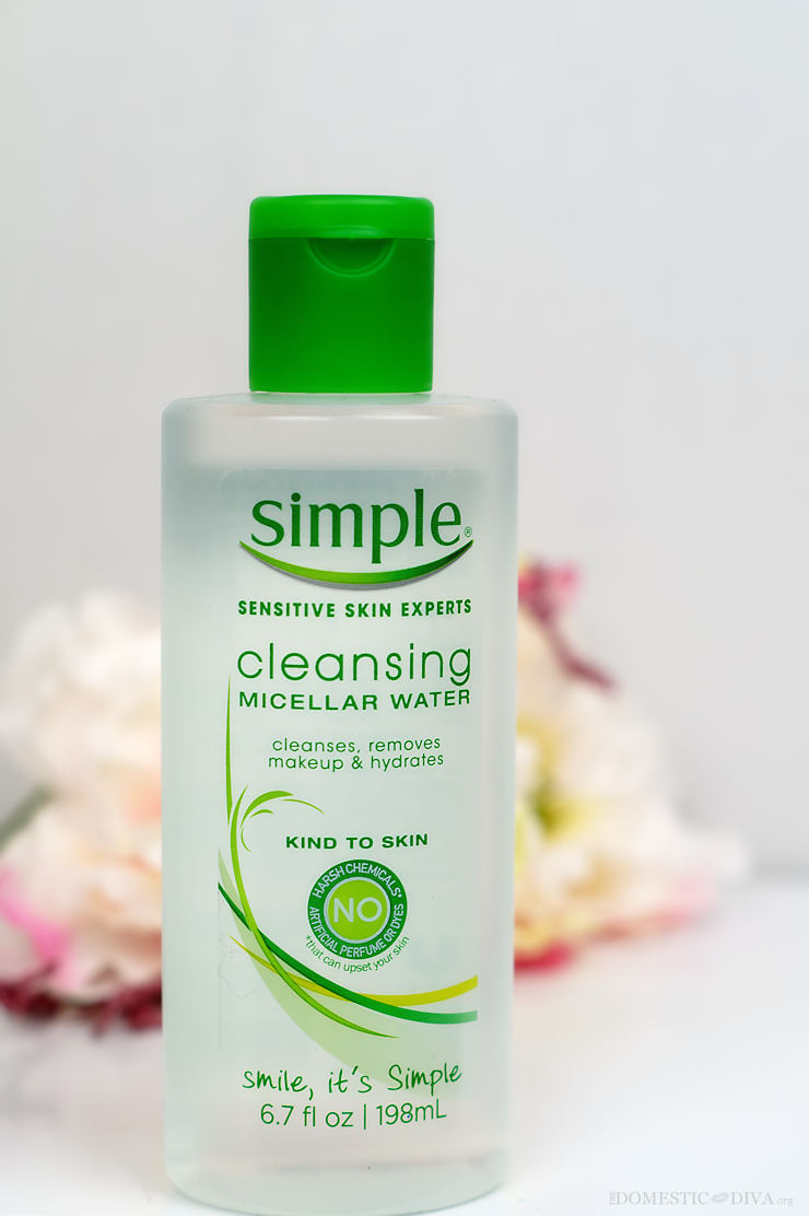 The Best Makeup Remover Simple Micellar Water (With