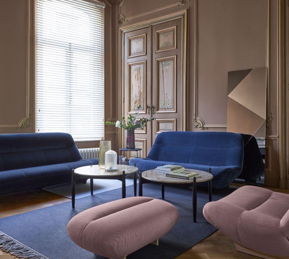 MANAROLA Canapés Designer Philippe Nigro Ligne Roset Canape - Formation decorateur interieur avec canapé petite taille design