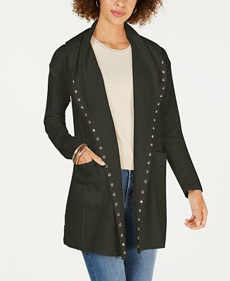 JM Collection Sweaters   New Duster Cardigan Plus Size X
