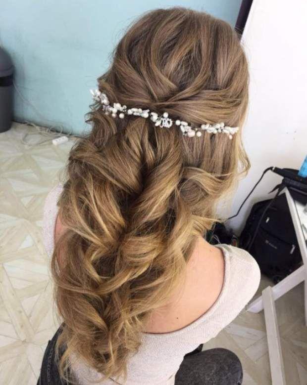 Mariage Les Plus Belles Coiffures Pour Cheveux Longs Reperees Sur
