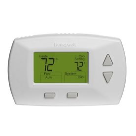 49 99 Honeywell Rectangle Electronic Non Programmable Thermostat