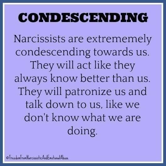 Condescending personality disorder