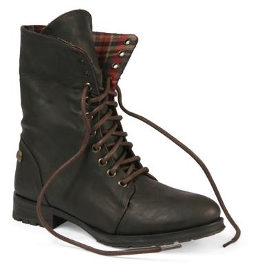 6ce1ae79c Tirianas  botas atadas con lazos