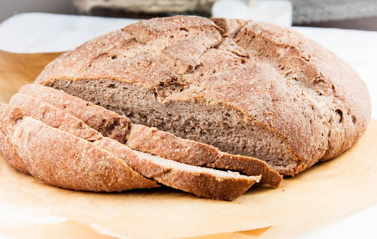 Honey Teff Bread With Warm Water Active Dry Yeast Honey Extra Virgin Olive Oil Chia Seeds Psyllium Husk Teff F Teff Bread Teff Flour Recipes Teff Recipes