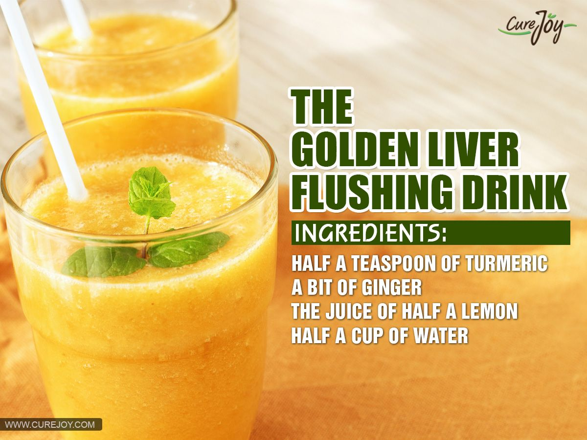 3 Simple Liver Detoxing Drinks That Flush Toxins From Your