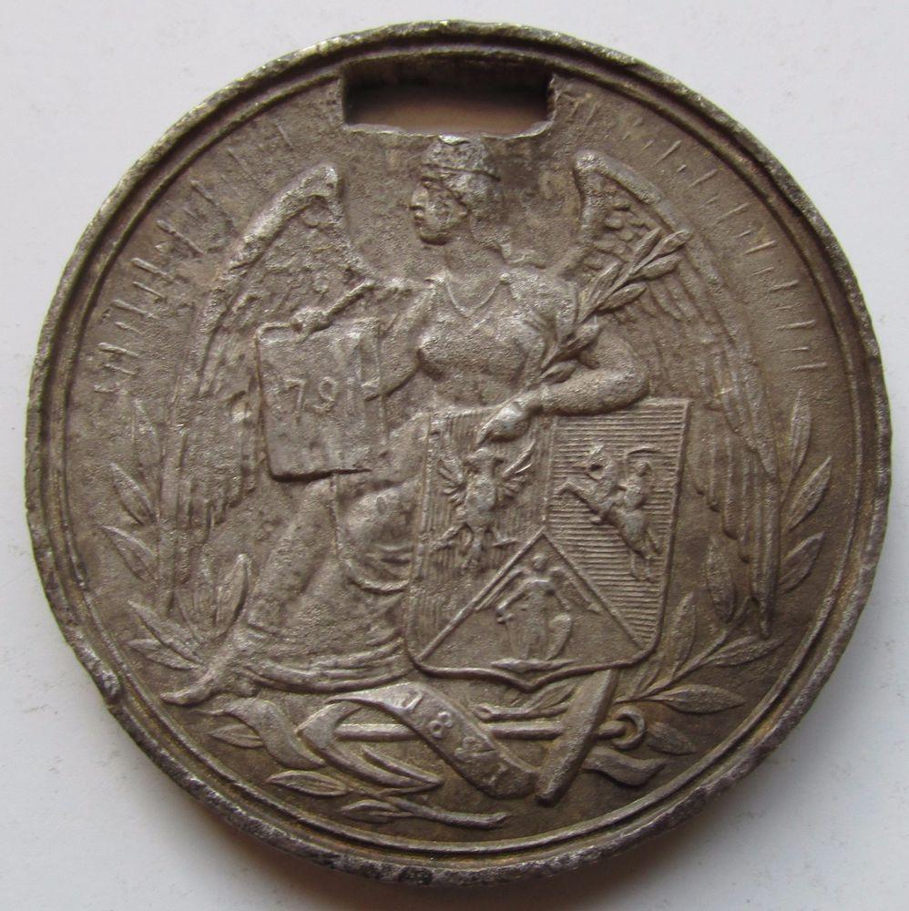 Poland, 1891 CENTENARY of POLES IN AMERICA Medal, 38mm WM