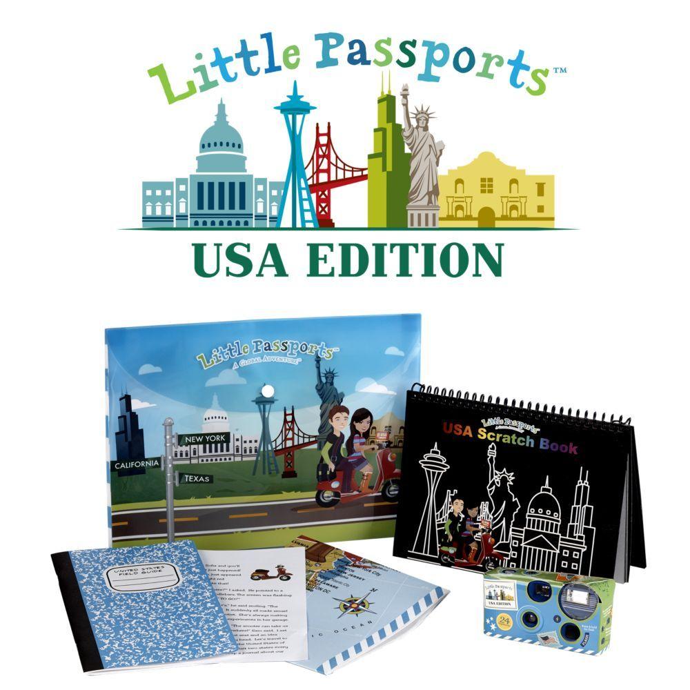 Little Passport U.S. Edition - One-year Subscription ...